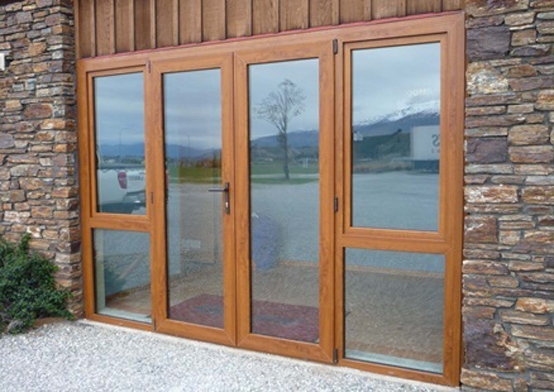 French Doors Double Glazed Exterior Hawk Haven