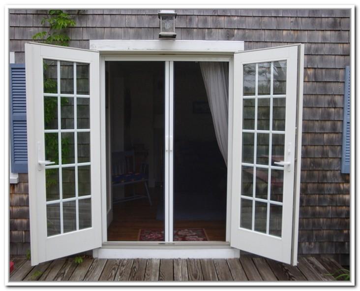 French Doors Exterior Screen Hawk Haven