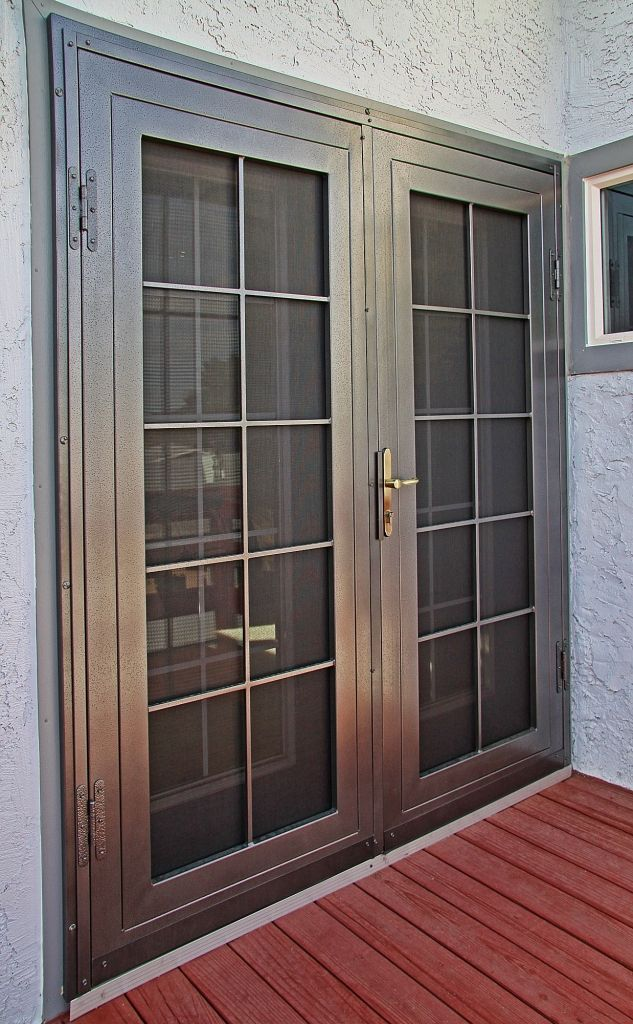 french doors exterior security doors photo - 7