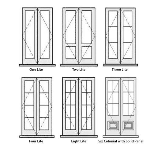 Interesting Double Front Door Size Contemporary - Exterior ideas 3D ...