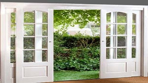 french doors exterior sliding photo - 3