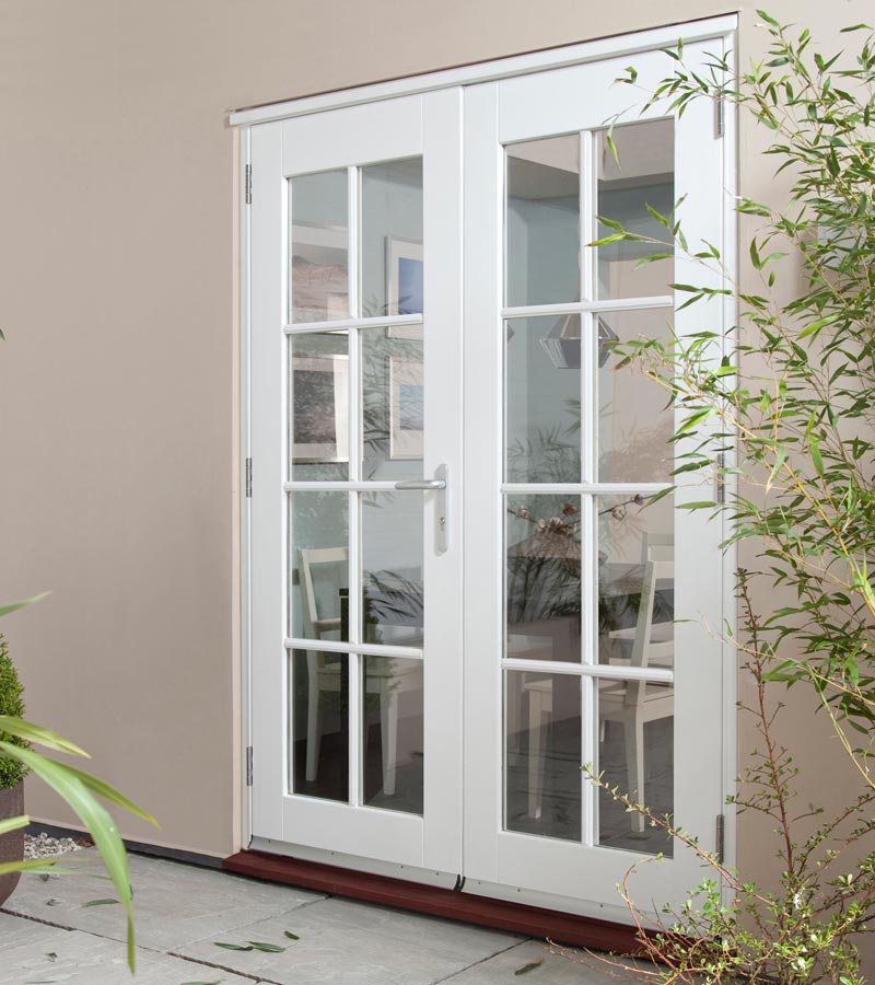 french doors exterior softwood photo - 8