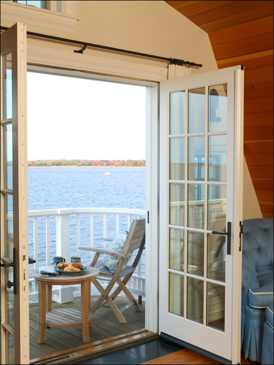 French doors exterior traditional hawk haven - Traditional french doors exterior ...