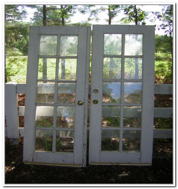 French Doors Exterior Used Hawk Haven