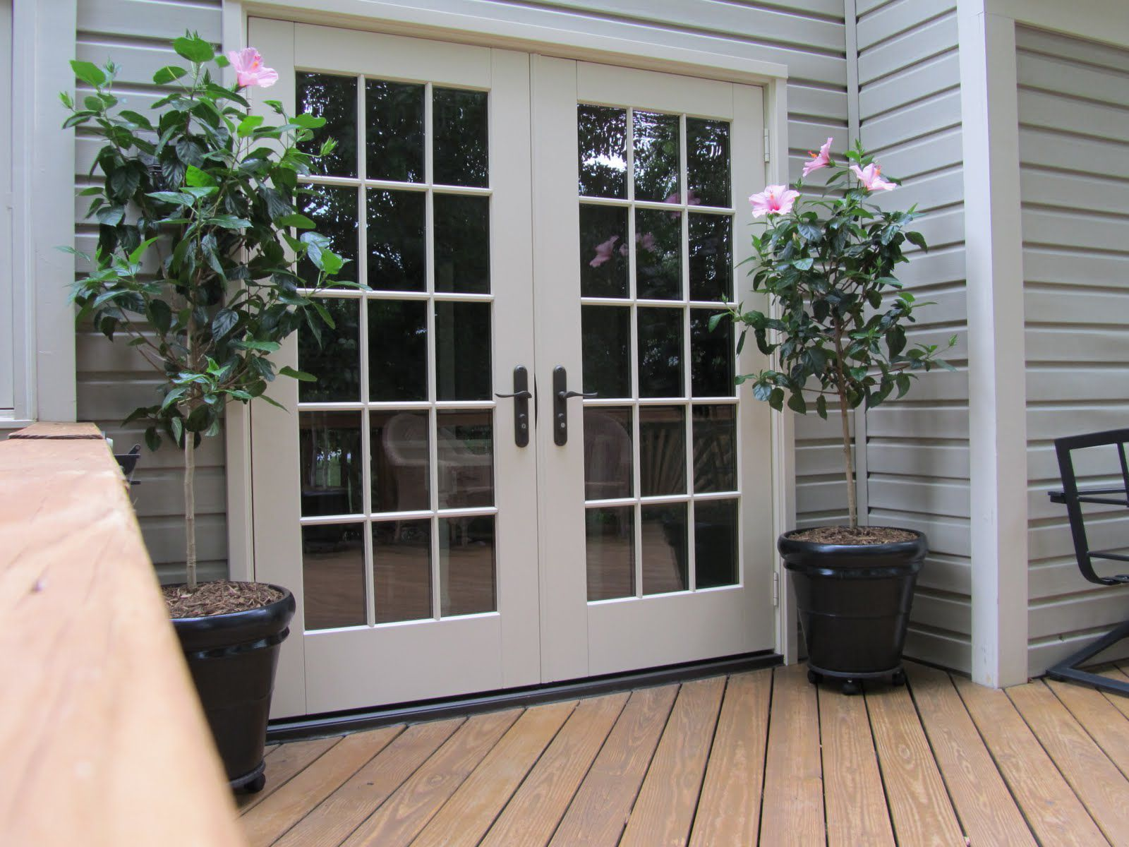 french doors exterior used photo - 10