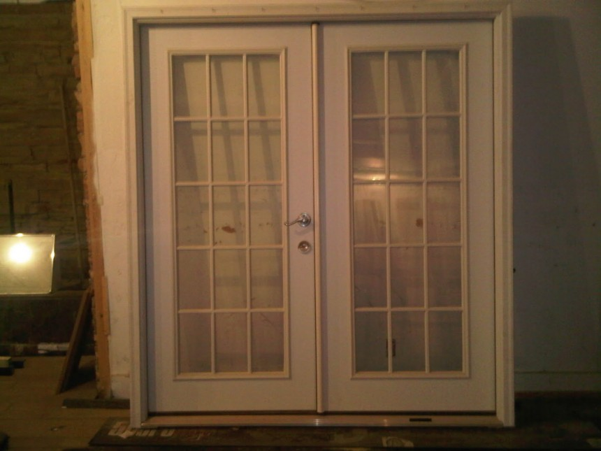 french doors exterior used photo - 9