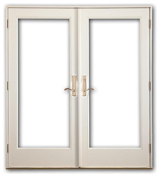 french doors exterior white photo - 10