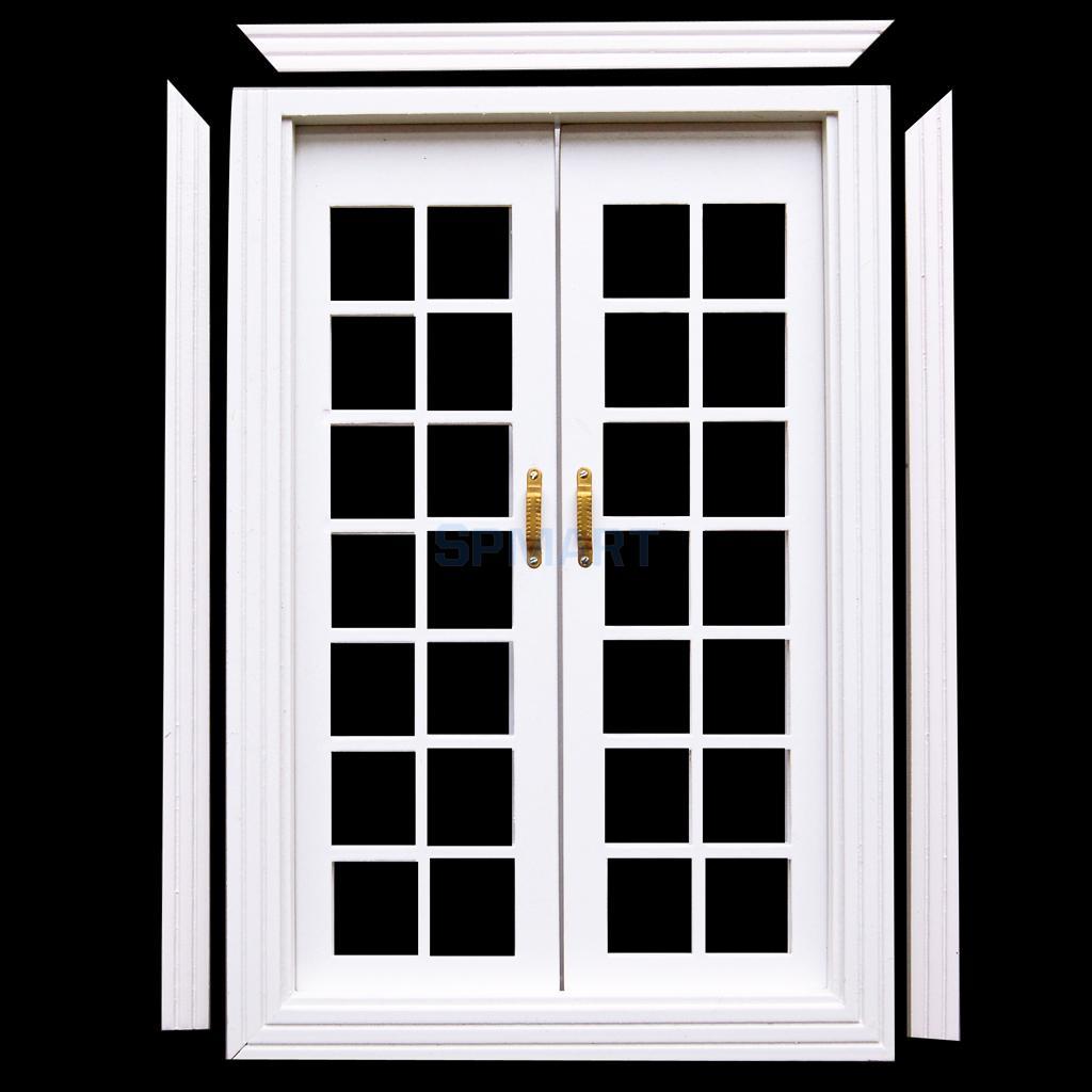 french doors exterior white photo - 5