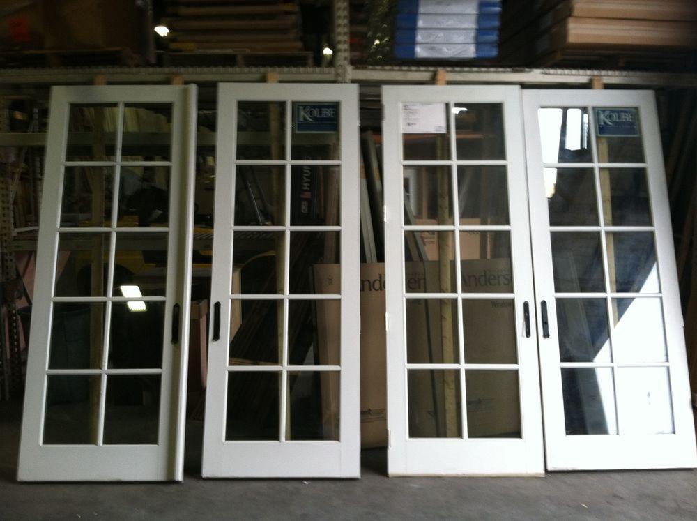 french doors exterior white photo - 9