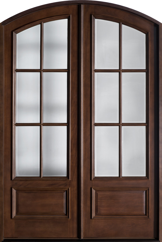 french doors exterior wood photo - 10