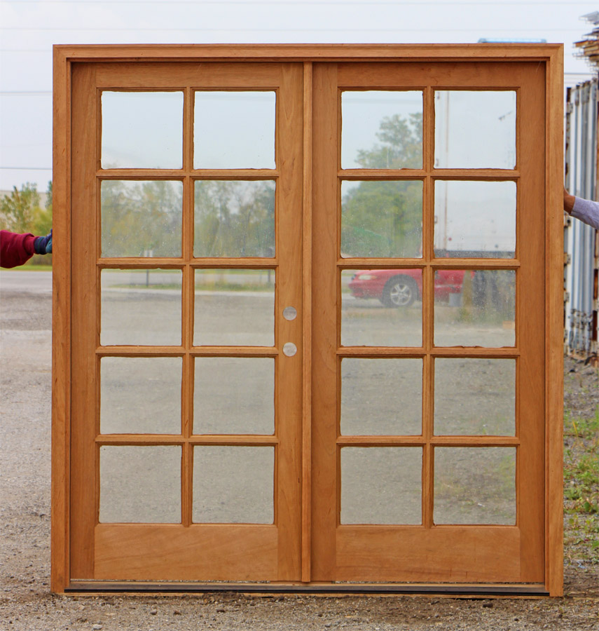 French Doors Exterior Wooden Hawk Haven