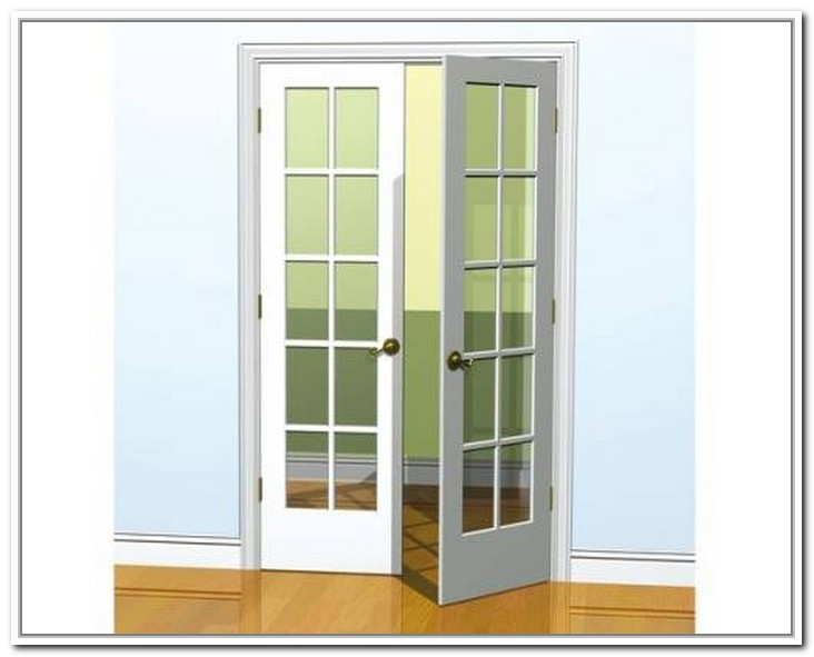 french doors interior 30 inch photo - 1