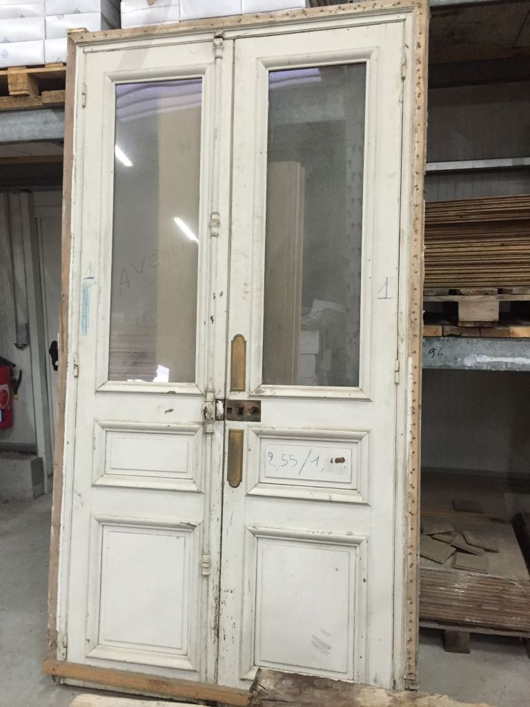 french doors interior antique photo - 2