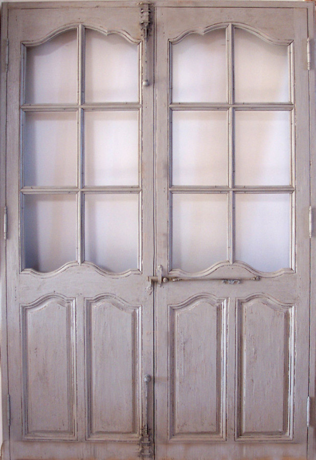 french doors interior antique photo - 4