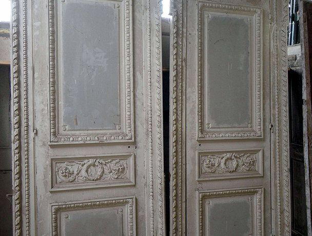 french doors interior antique photo - 5