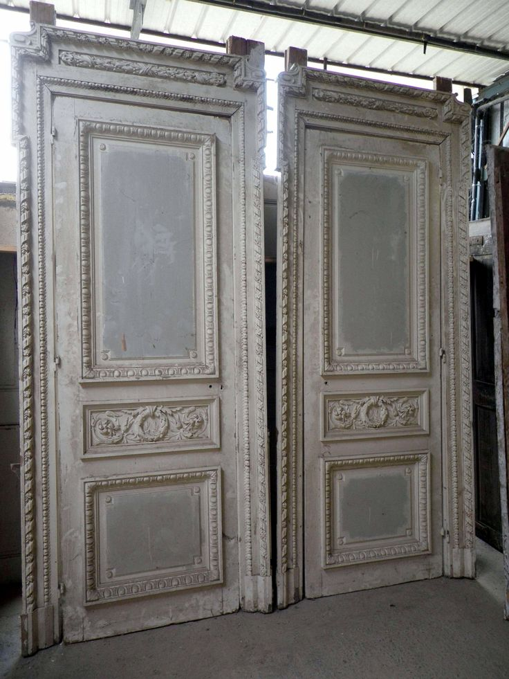 french doors interior antique photo - 8