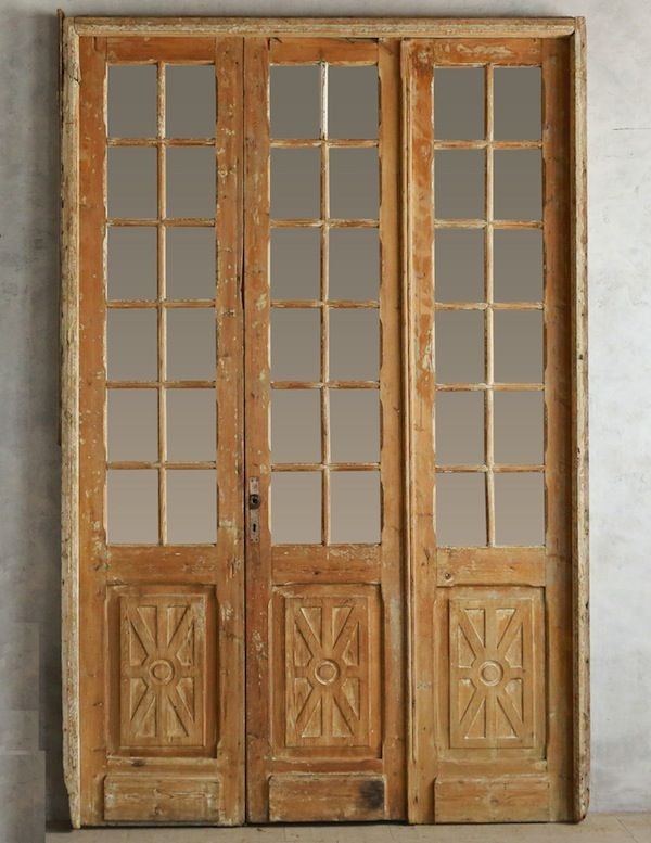 french doors interior antique photo - 9