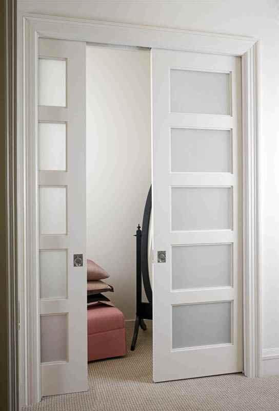 french doors interior bedroom photo - 1