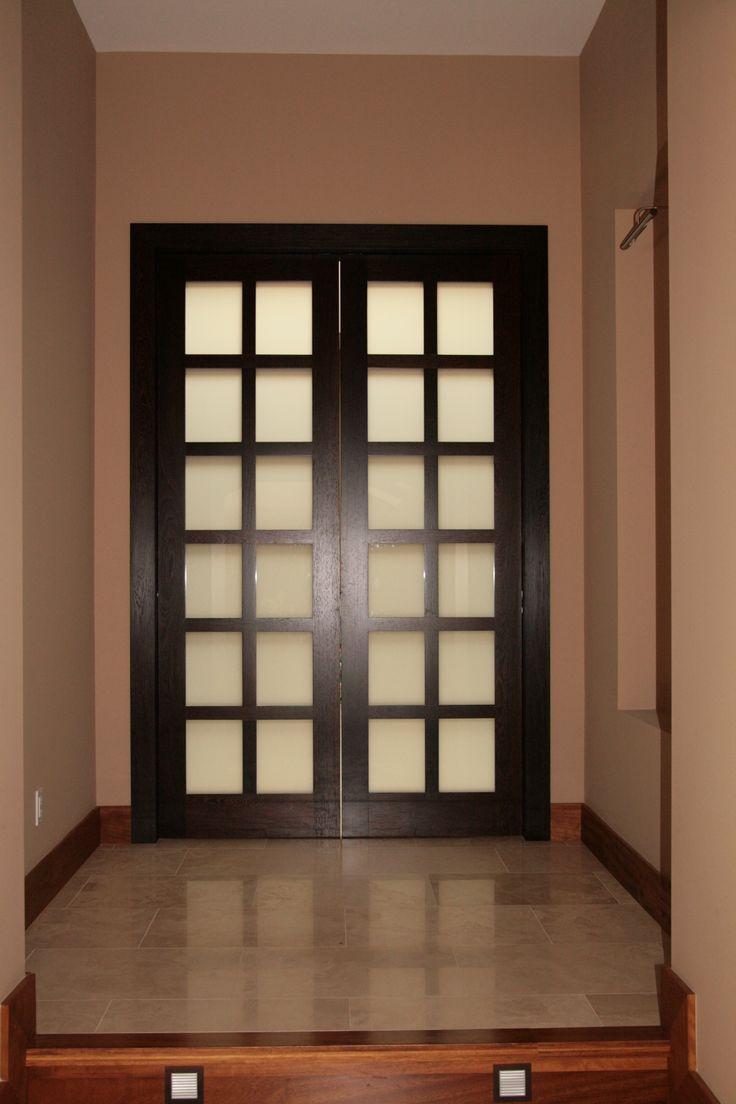 french doors interior bedroom photo - 8