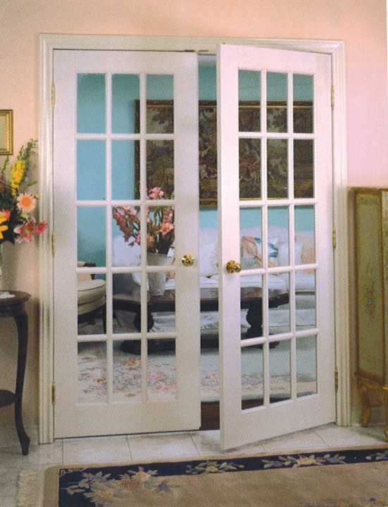 french doors interior bedroom photo - 9