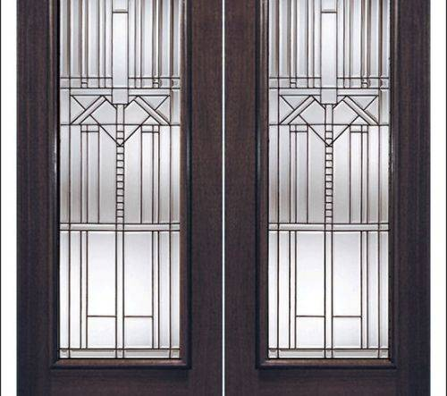 french doors interior beveled glass photo - 1