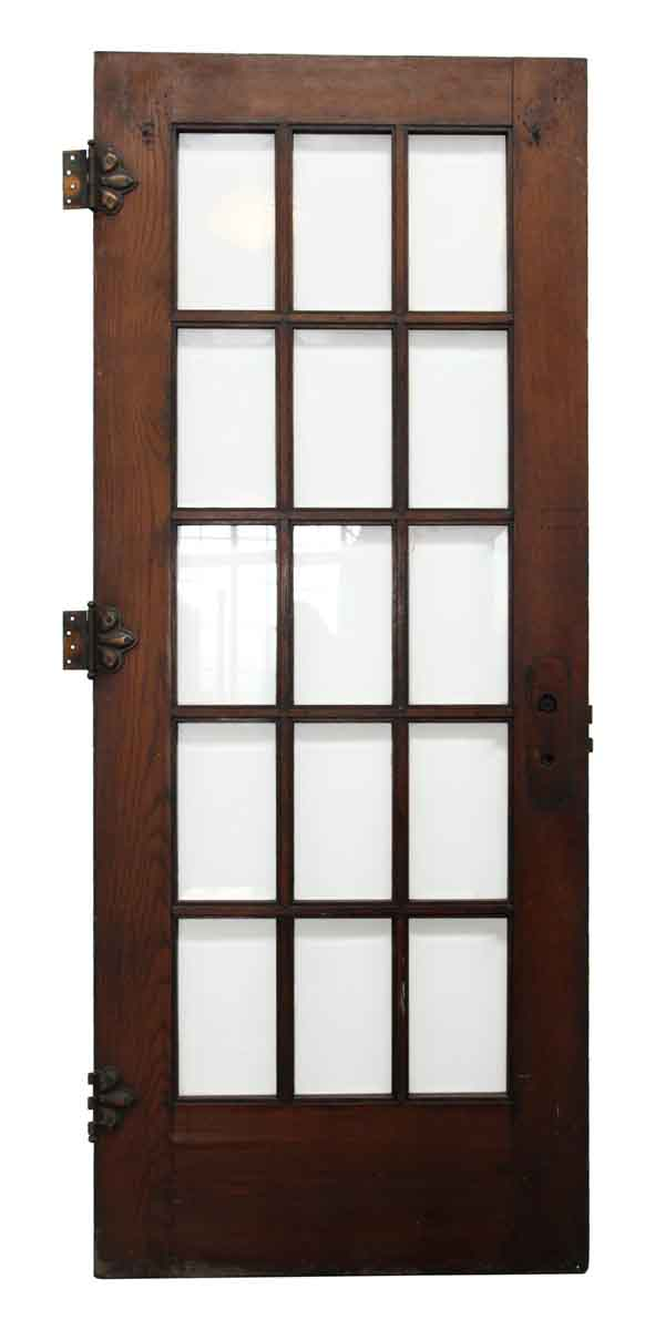 french doors interior beveled glass photo - 5