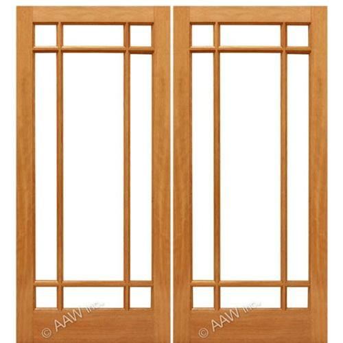 french doors interior beveled glass photo - 9