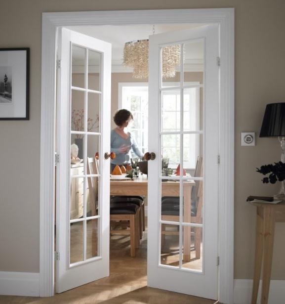 french doors interior design photo - 10