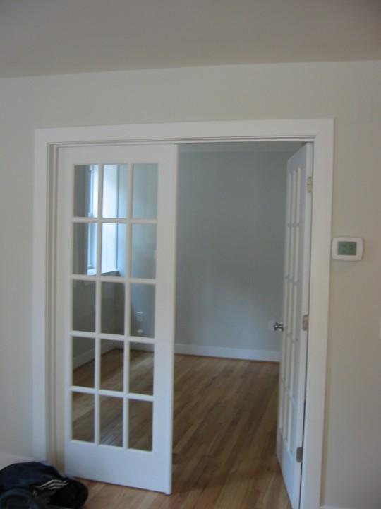 french doors interior design photo - 5