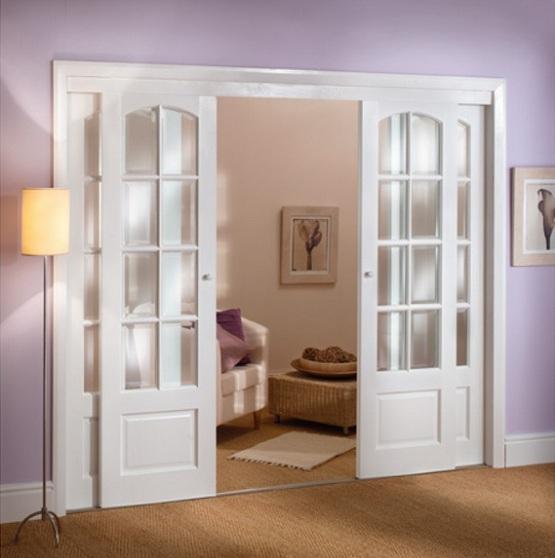 french doors interior design photo - 6