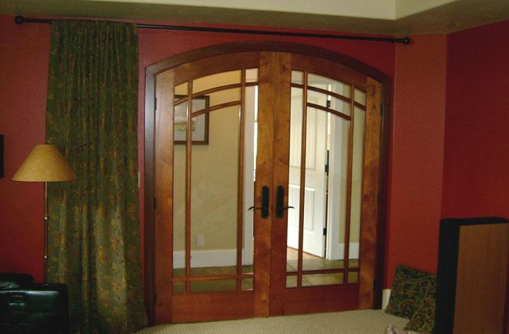 french doors interior double photo - 4