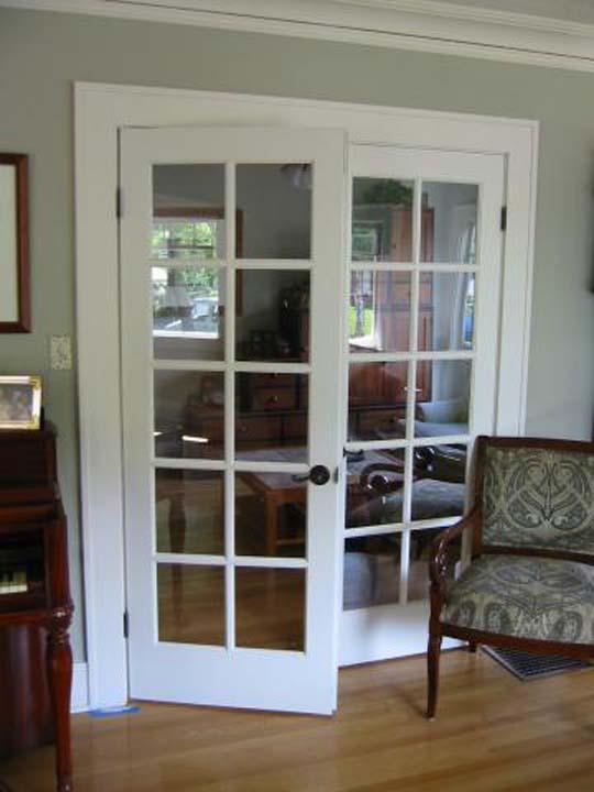 french doors interior double photo - 5