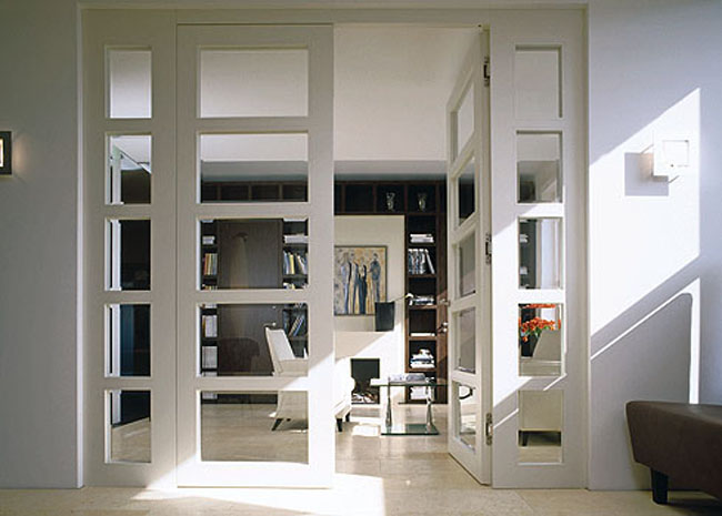 french doors interior office photo - 4