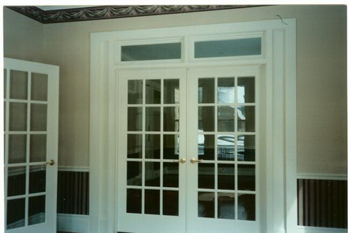 french doors interior office photo - 7