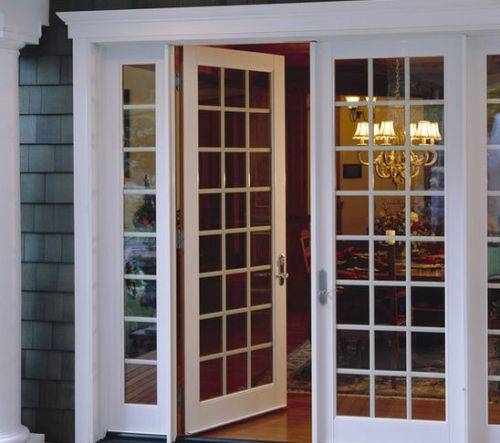 french doors interior office photo - 8