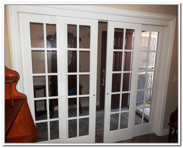 french doors interior sliding photo - 2