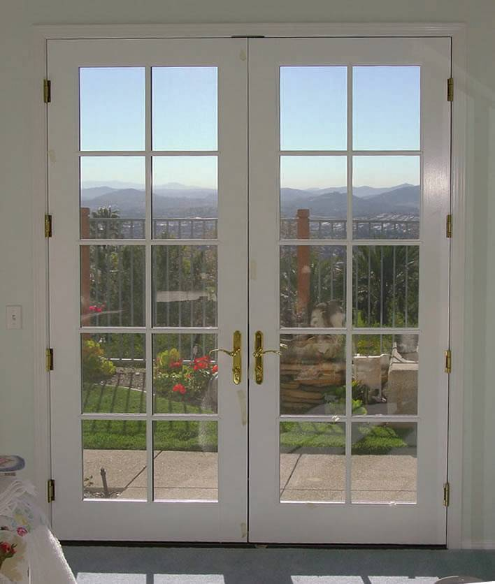 & French double doors | Hawk Haven