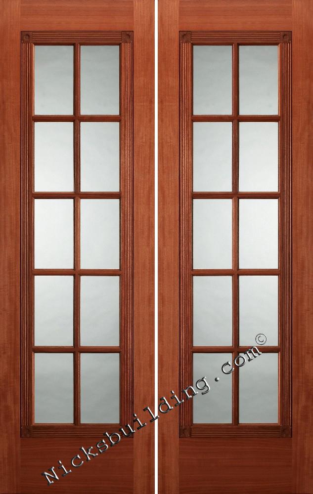 french double doors interior photo - 3
