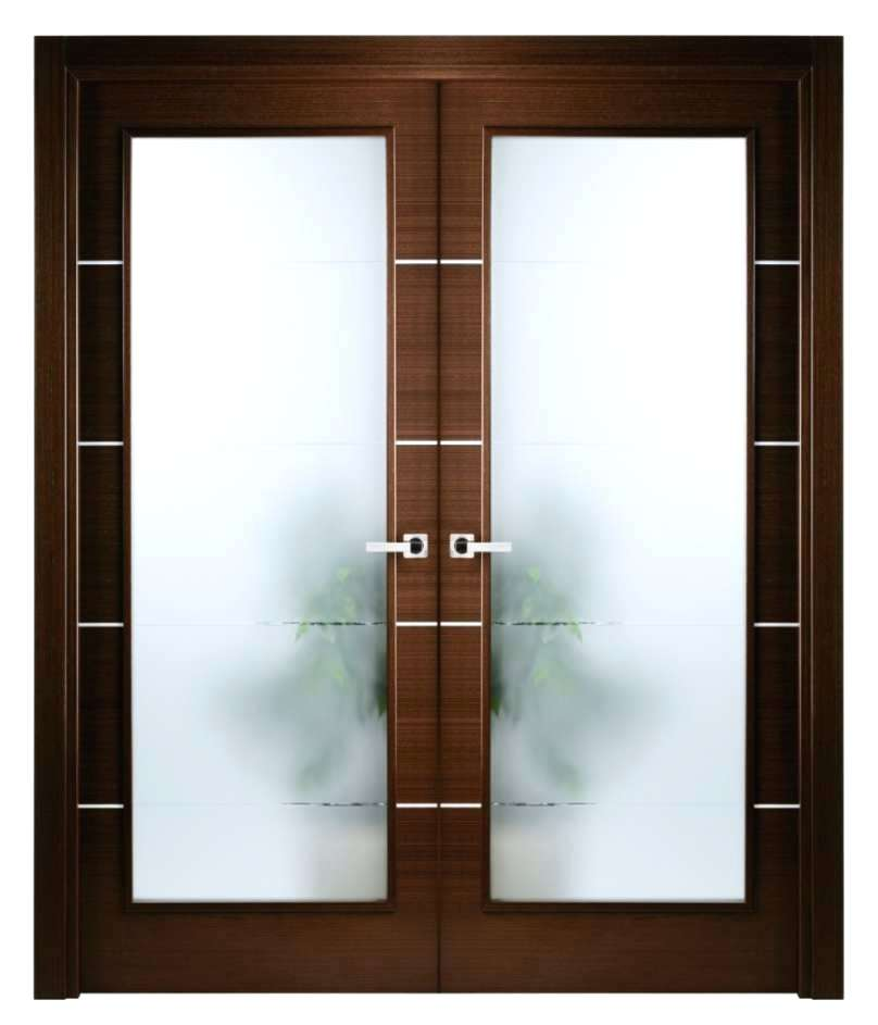 french double doors interior photo - 7
