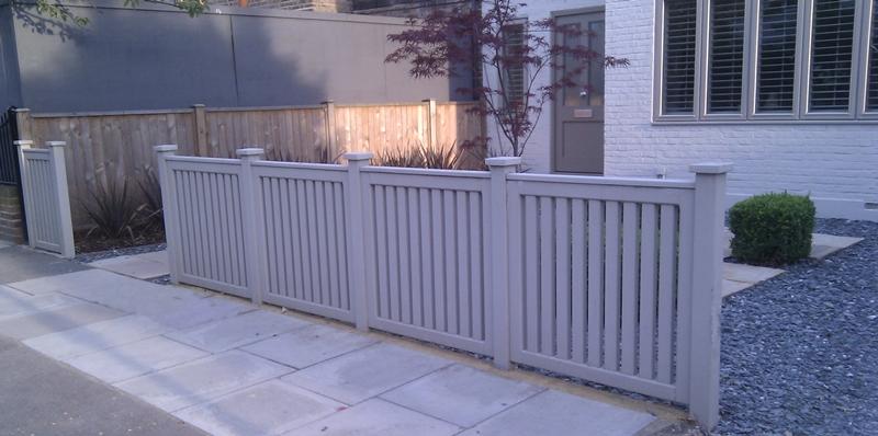 front garden fencing ideas photo - 4