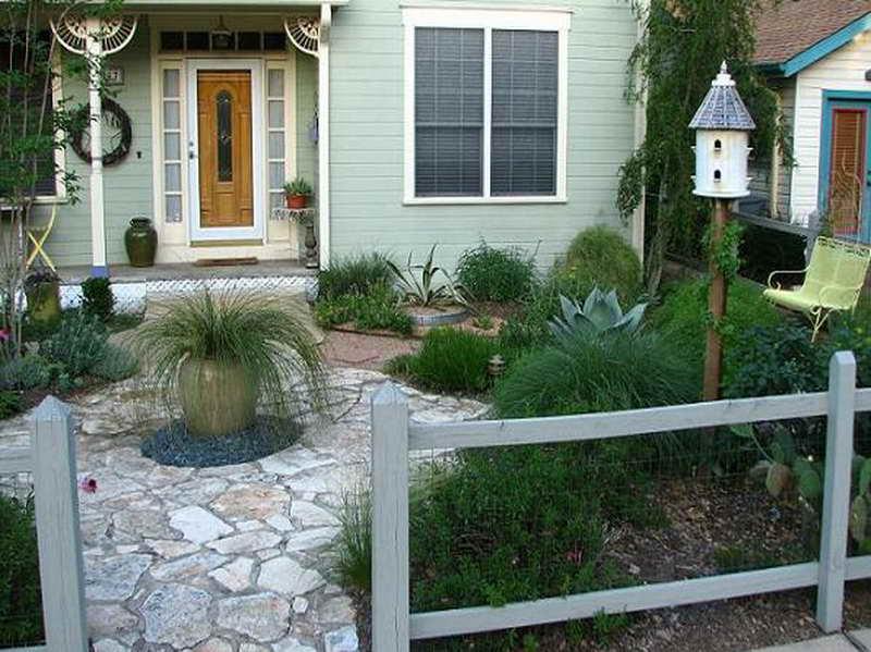 front garden fencing ideas photo - 5