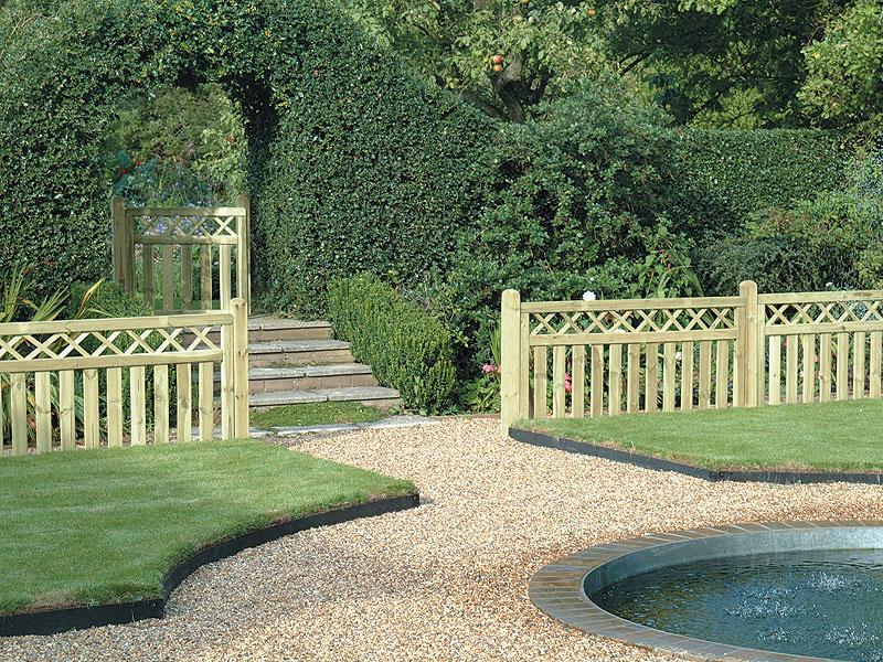 front garden fencing ideas photo - 9