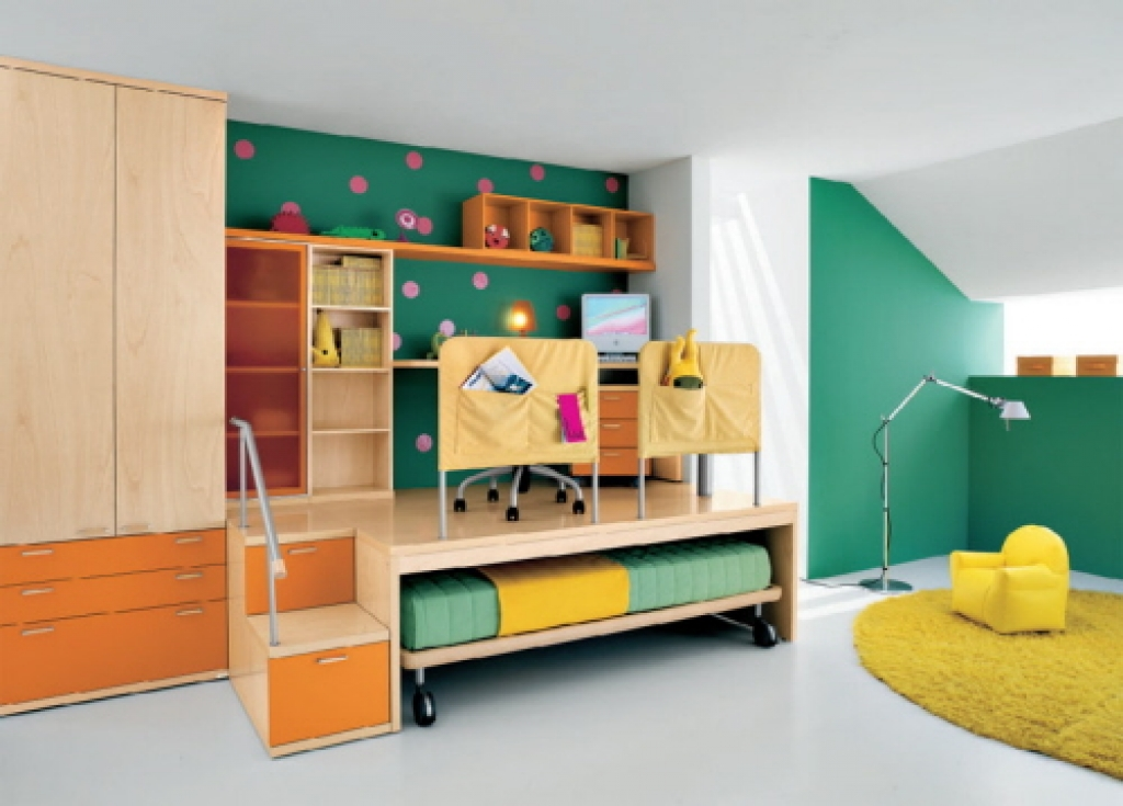 fun bedroom furniture for kids photo - 4