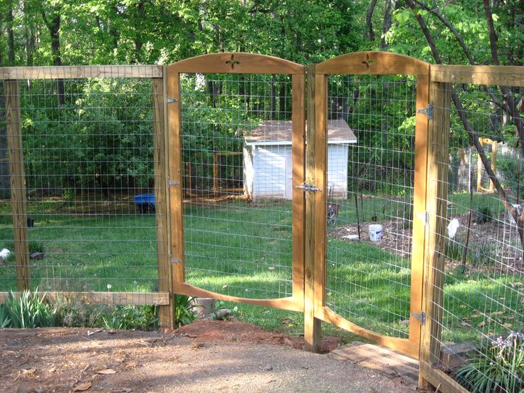 garden deer fencing ideas photo - 9