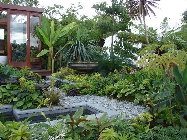 garden design and ideas tropical photo - 10