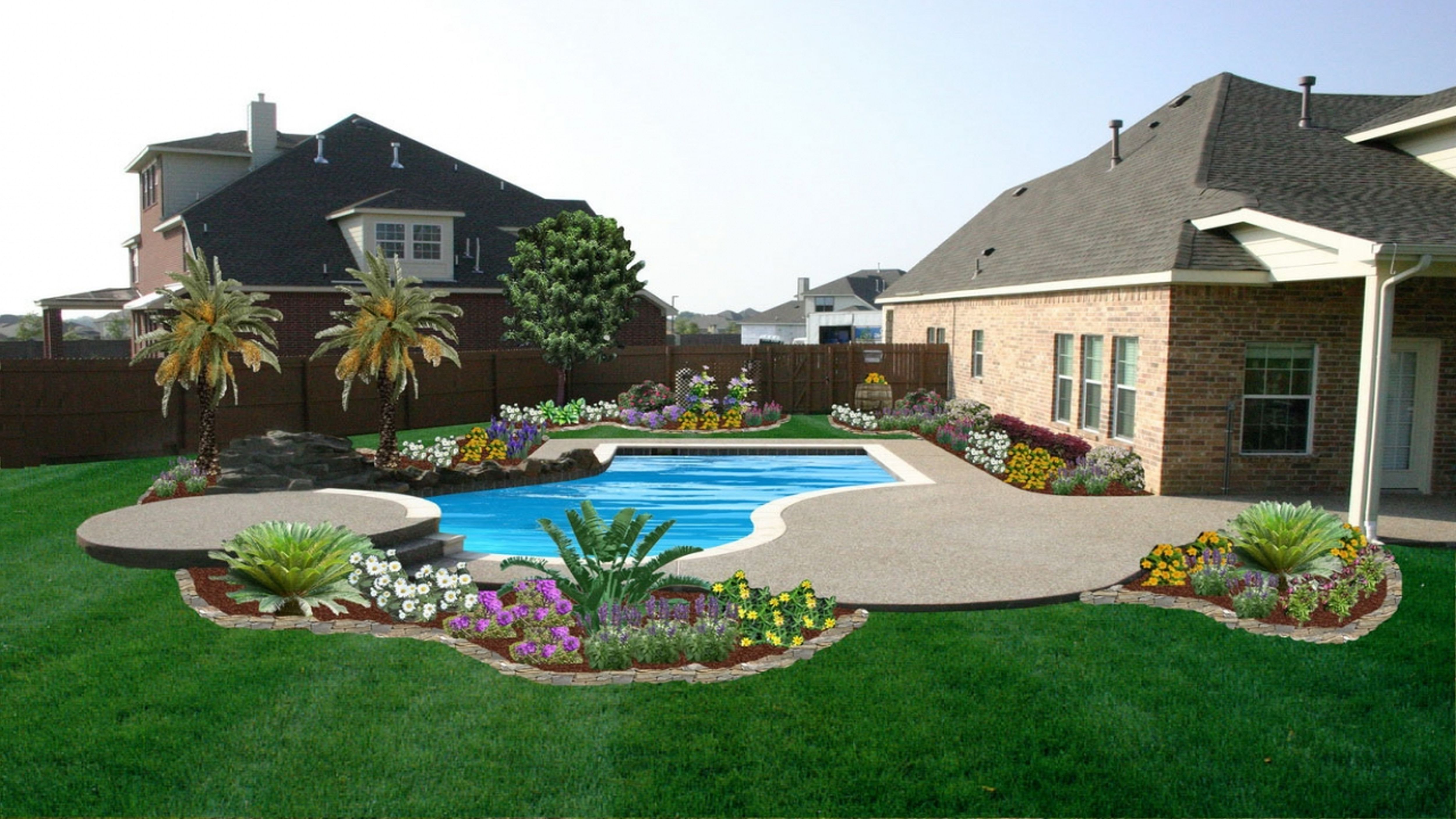 garden design for large areas photo - 3