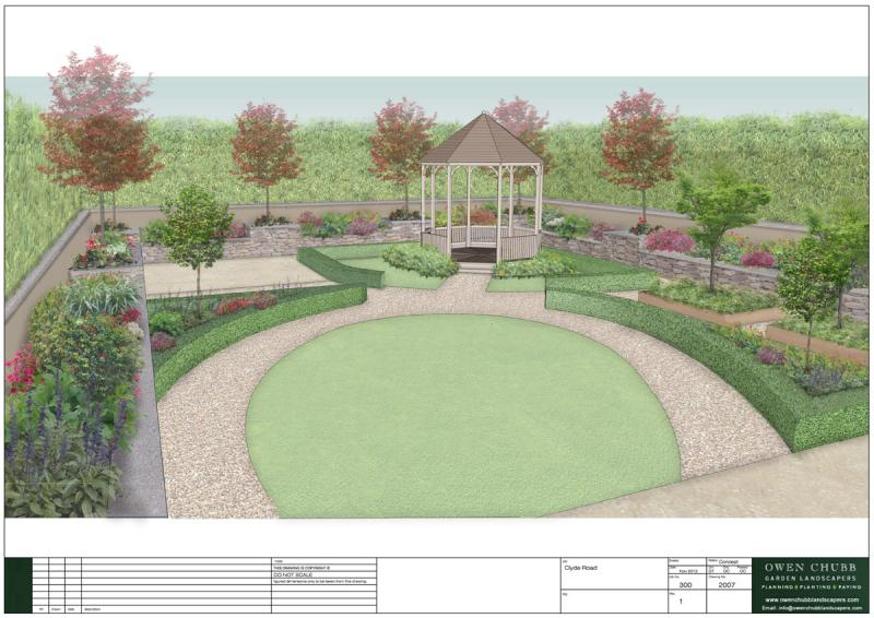 garden design for large areas photo - 6