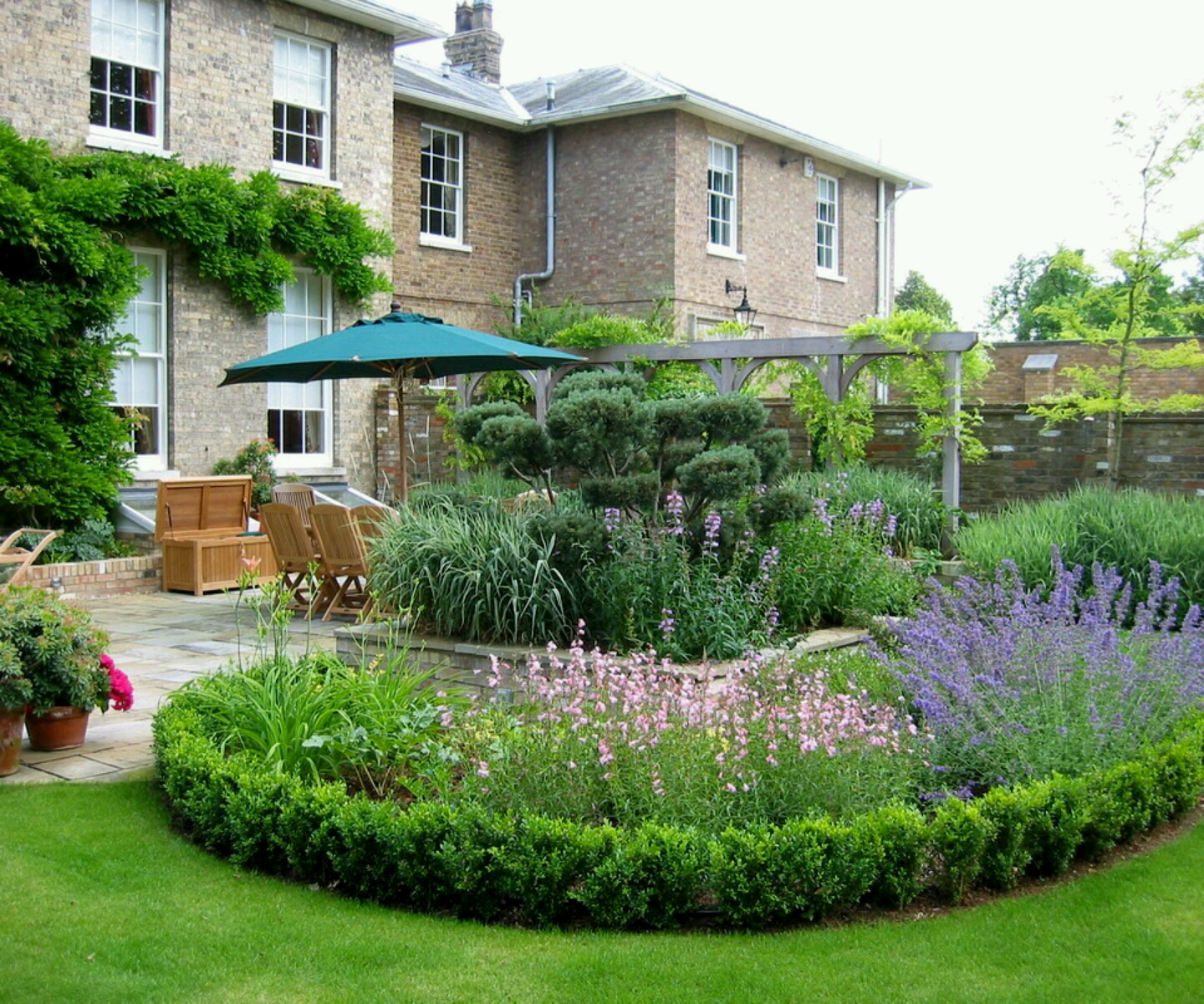 garden design ideas for new houses photo - 2