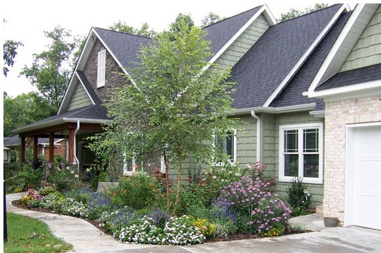garden design ideas for new houses photo - 7