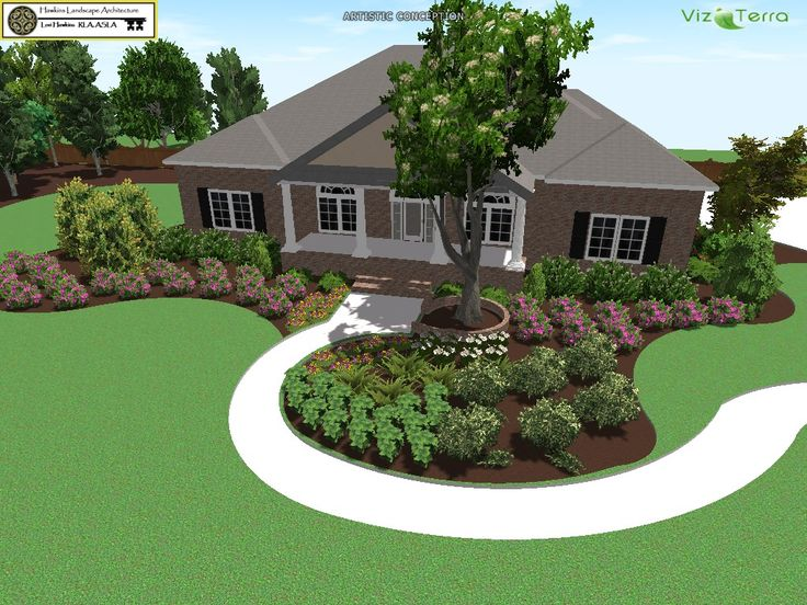 garden design ideas for new houses photo - 8